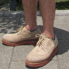 VISVIM 的 LONG WINGTIP BROGUE