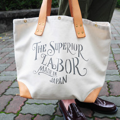 THE SUPERIOR LABOR 的 經典帆布MARKET BAG