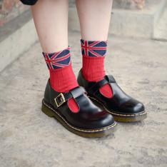 TUTUANNA 的 英國國旗襪子