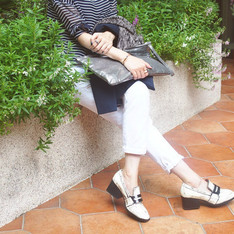 DRESSCODETW.COM 的 白擦色MARIE AN WEDGE
