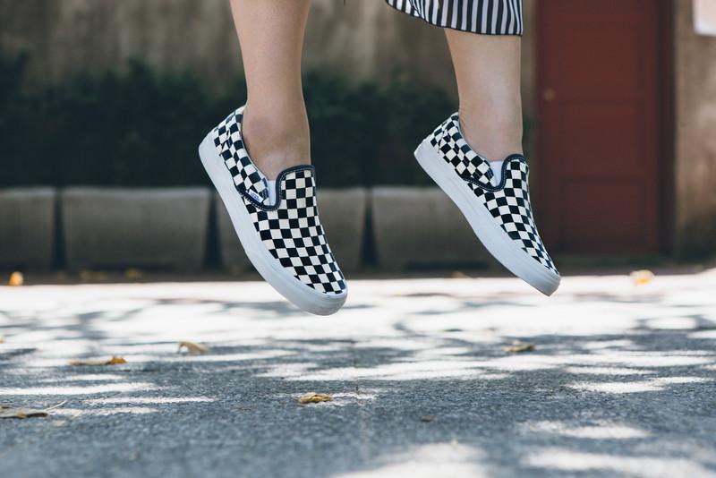 VANS 的 棋盤格便鞋
