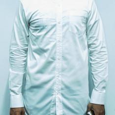 PLAIN-ME 的 立領襯衫