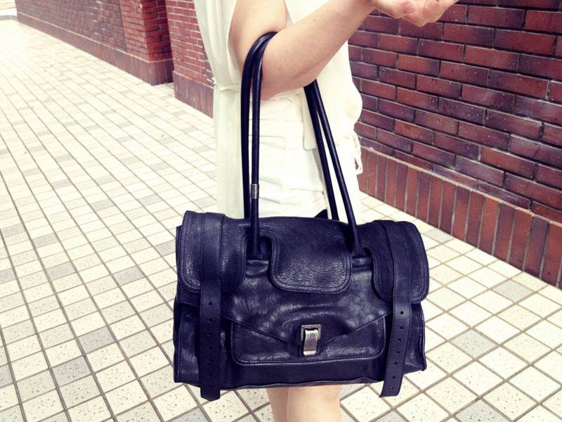 PROENZA SCHOULER 的 BLACK PS1 KEEP ALL BAG