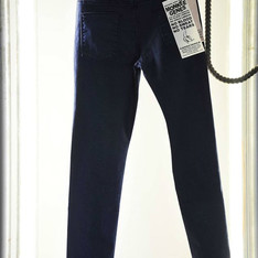 MONKEE GENES  的 MONKEE GENES DARK INEGA DENIM SKINNY