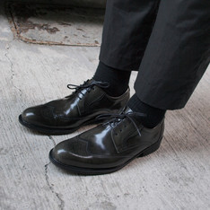 WALTZ 的 漆皮牛津鞋