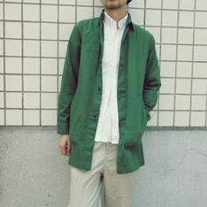 PLAIN-ME X AUDIENCE 的 SHOP COAT