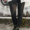 無品牌 的 窄版彈性AB褲