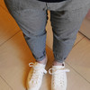 千鳥格紋褲