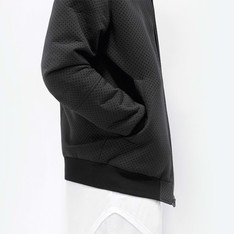 STAMPD 的 STAMPD PERFORATED NEOPRENE BOMBER JACKET