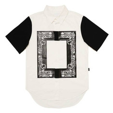 KYE 的 KYE SQUARE SKULL PRINTING SHORT SLEEVE SHIRT