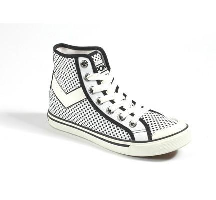 PONY 的 普普風帆布鞋