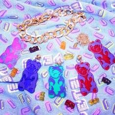 PETSHOPSGIRL  的 小熊軟糖項鍊