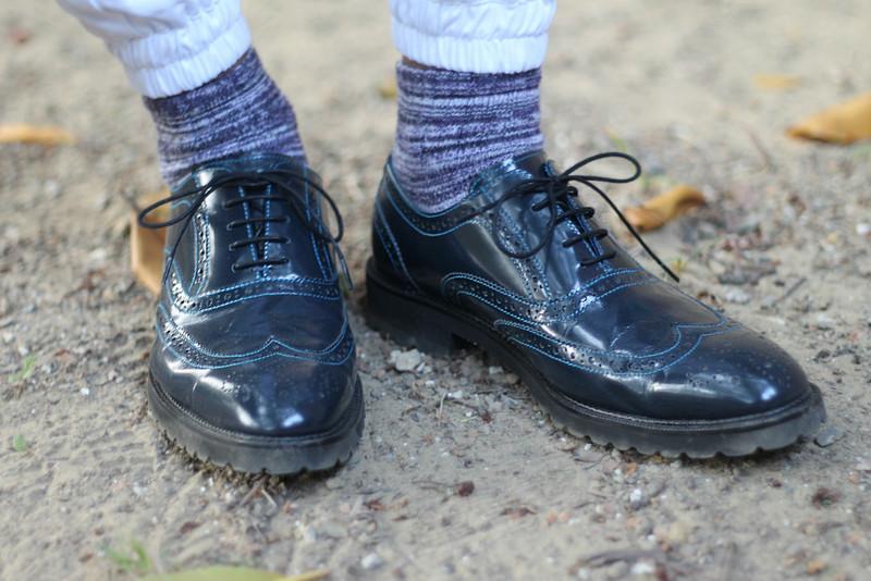 PLAIN-ME 的 牛津雕花鞋