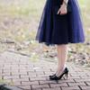芭蕾舞裙一般的澎紗裙。