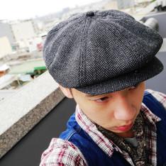 BRIXTON 的 報童帽