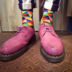 DR. MARTENS 的 DERBY SHOES