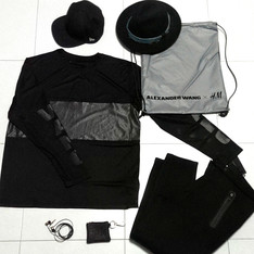 ALEXANDER WANG X H&M 的 ESSENTIALS : A.WANG FOR H&M