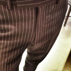 JOHN LAWRENCE SULLIVAN 的 直條紋西裝褲