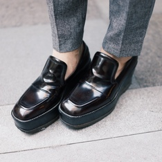 DRIES VAN NOTEN 的 厚底LOAFERS