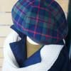 MILO.COM 的 英倫格紋毛呢帽