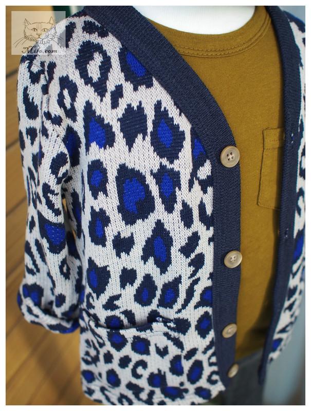 MILO.COM 的 豹紋針織外套