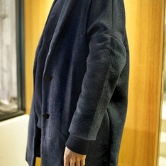 DRESSCODE TW 的 WOOL COCOON OVERCOAT