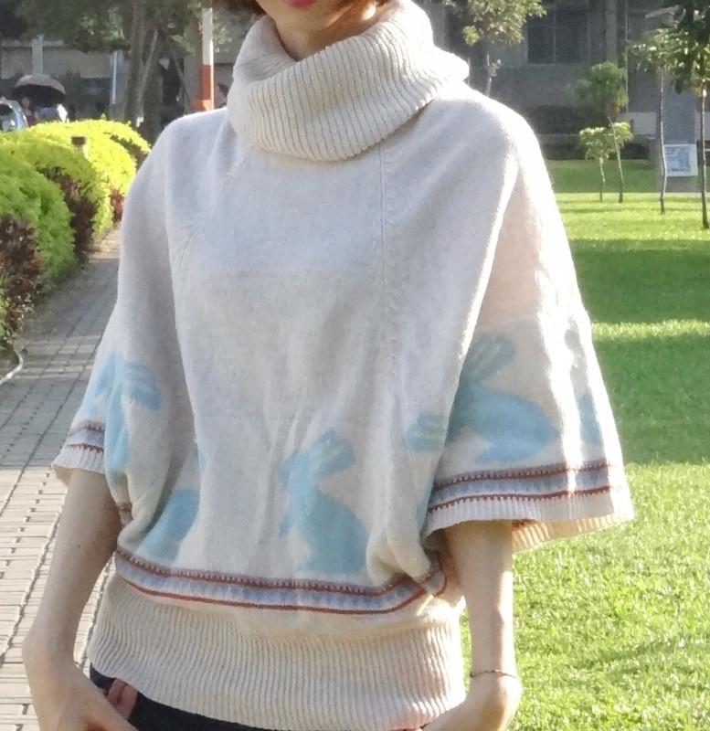 路邊攤 的 針織毛衣