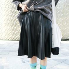 FRONTROWSHOP 的 皮裙