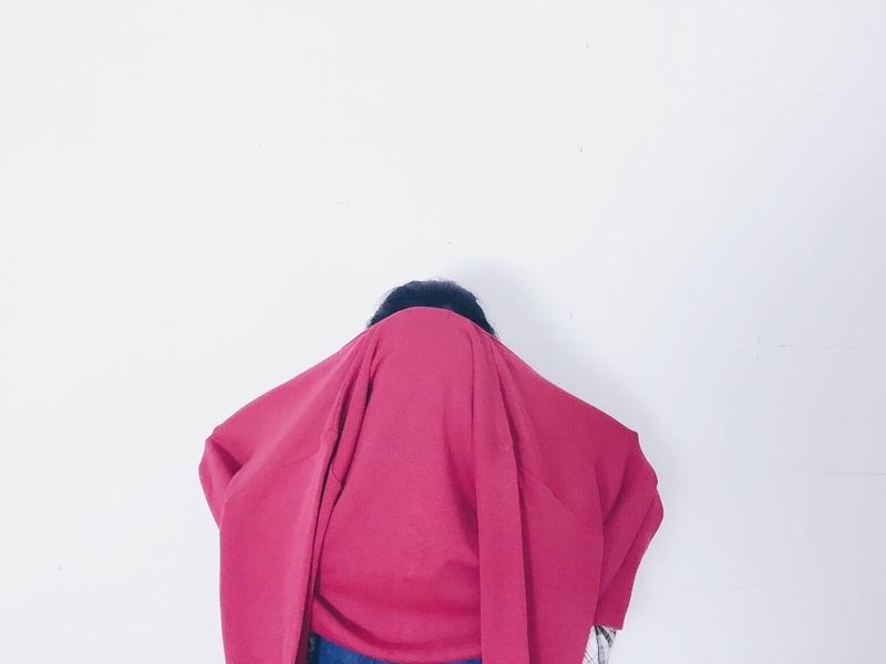 女孩別哭購 的 針織外套