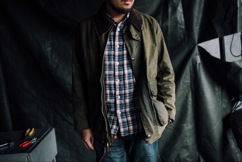 BARBOUR 的 WAXED JACKET