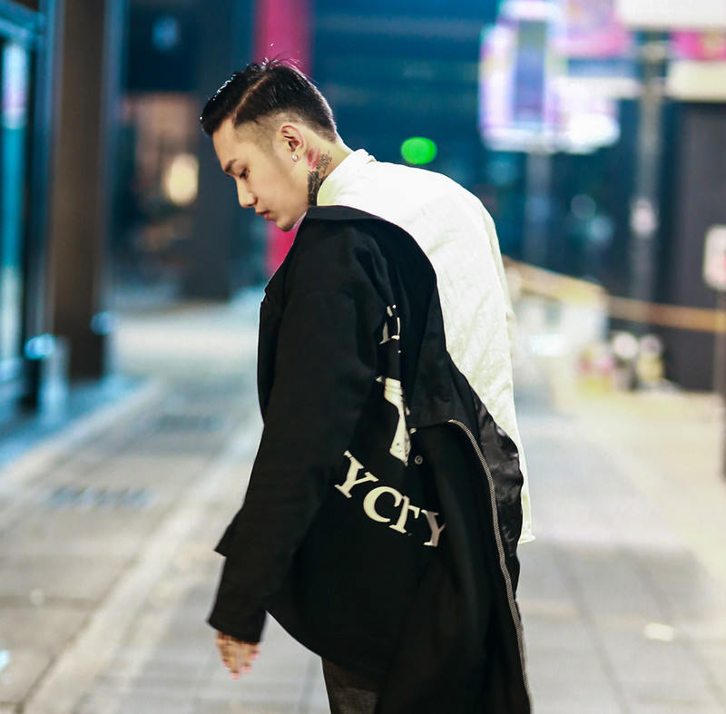 GLORY INC 的 WORK JACKET (BACK)