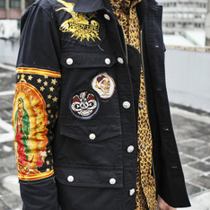 TAKI 的 DEATH DOMINATOR HUNTING JACKETS(後加工)