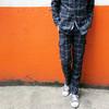 格紋工作褲