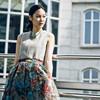 DRESS CODE 的 雪紡印花裙