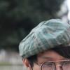 SEED 的 條紋報童帽