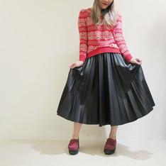 無品牌 的 皮裙