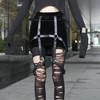 MIYUTI 的 龐克短裙