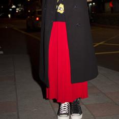 MIYUTI 的 百折長裙