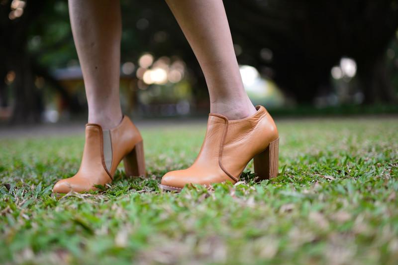 DRESS CODE 的 木根踝靴