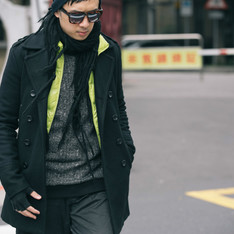 [ WAM ] 的 雙排釦大衣