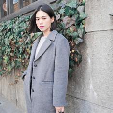 GU 的 西裝大衣