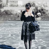 LAUREA 的 印花紗裙