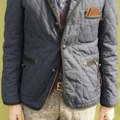 JUNYA WATANABE 的 QULITED JACKET