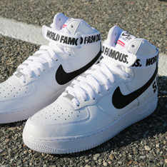 NIKE AIR FORCE 的 SUPREME X NIKE AIR FORCE1