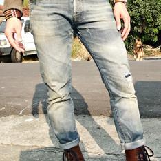 ENERGIE 的 刷黃牛仔褲