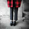 HUI GIN 的 條紋西裝褲