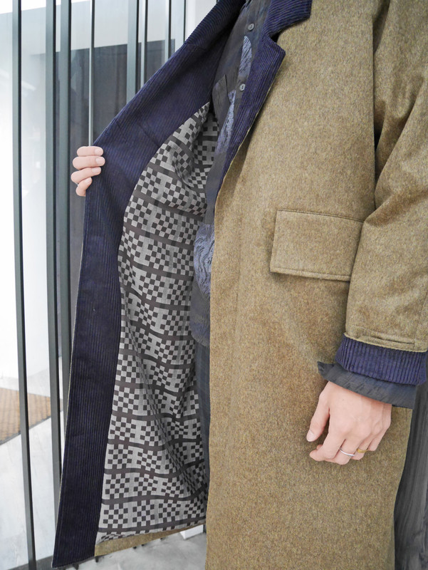 ENVOL AVEC NING 的 長版西裝大衣