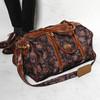 PIERRE BALMAIN 的 變形蟲花紋手提旅行包
