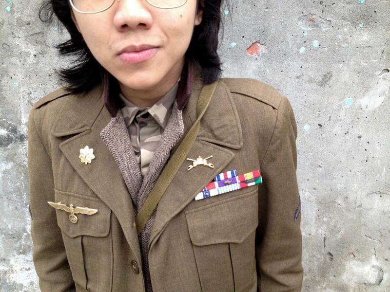 古著 的 美軍艾森豪外套
