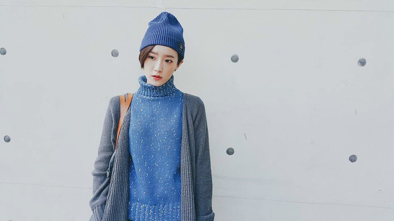 STARKIKISHOP 的 高領毛衣